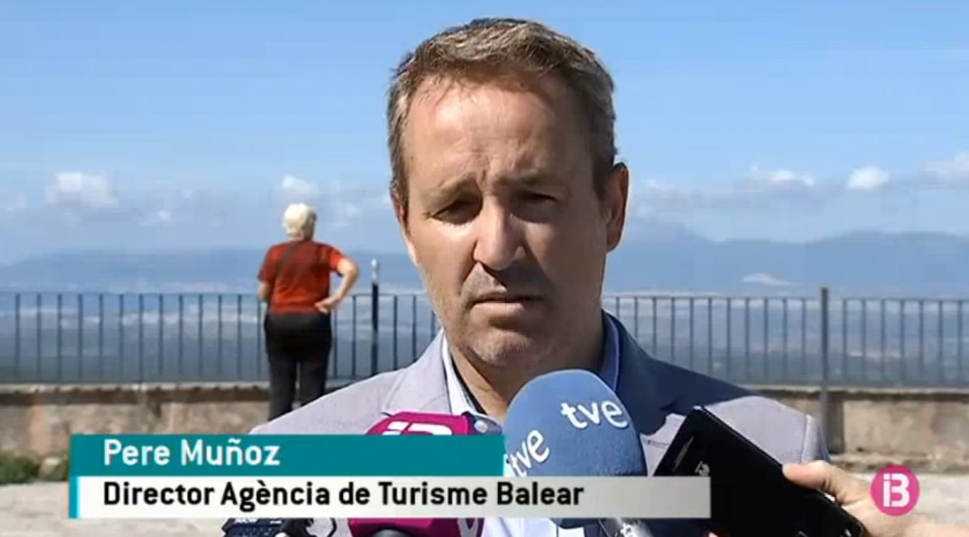 El ex director de la Agencia de Turismo balear, Pere Muñoz.