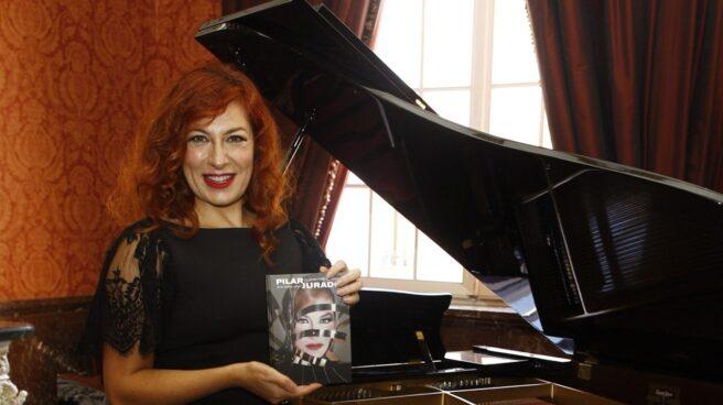 La soprano Pilar Jurado, en 2014.