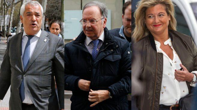 Luis Pineda, Miguel Bernad y Virginia López Negrete.
