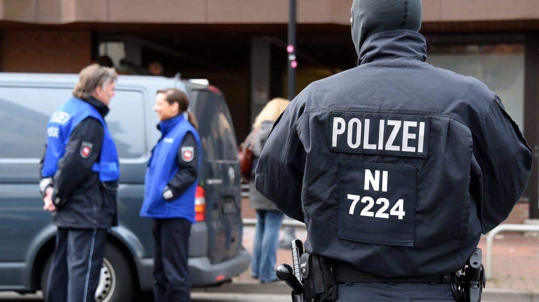 Policía alemana.