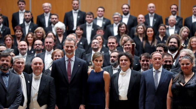 Los reyes en los Premios Princesa de Asturias.