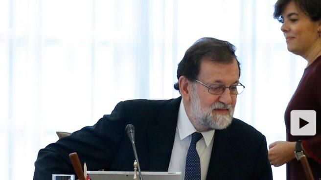 Mariano Rajoy, durante una reunión del Consejo de Ministros.