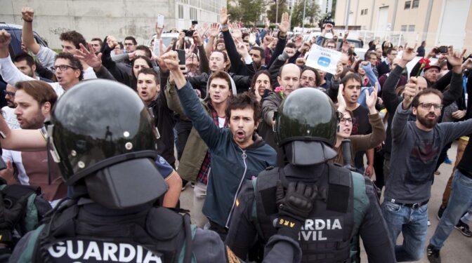 Estrasburgo archiva las dos primeras demandas independentistas por las cargas del 1-O