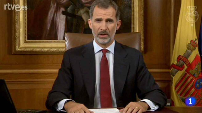 Discurso del Rey Felipe VI ante el desafío independentista.