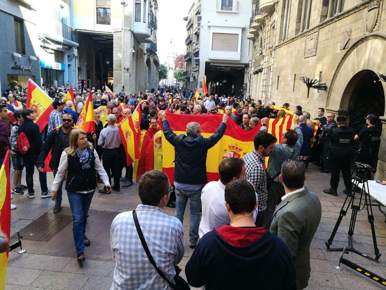 Concentración de Societat Civil Internacional, este sábado 28 de octubre en Lleida.