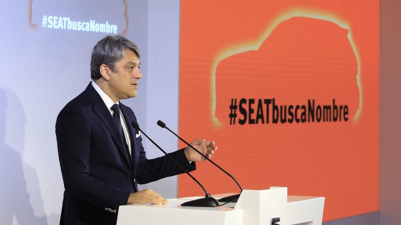 El presidente de Seat, Luca de Meo.
