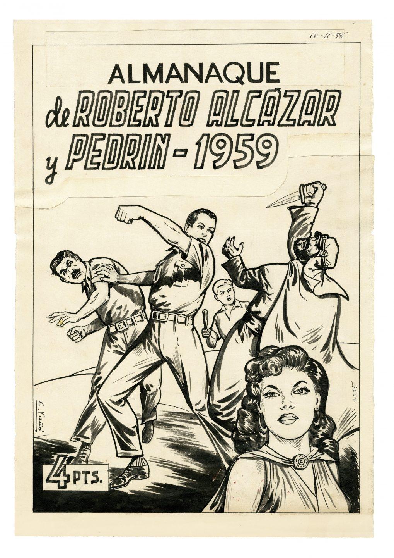 'Almanaque', de Roberto Alcázar y Pedrín.