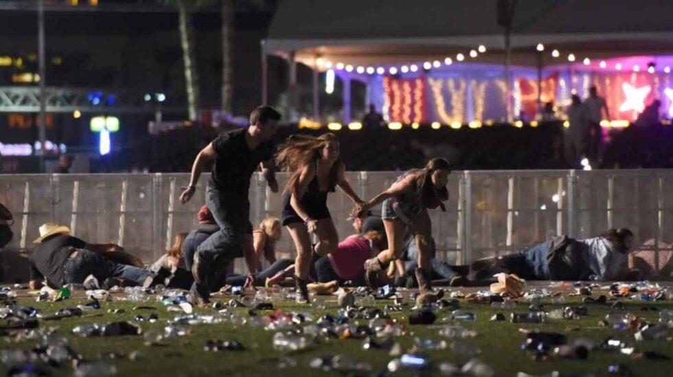 Tiroteo en Las Vegas.