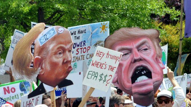 Marcha contra el cambio climático y la política de Trump