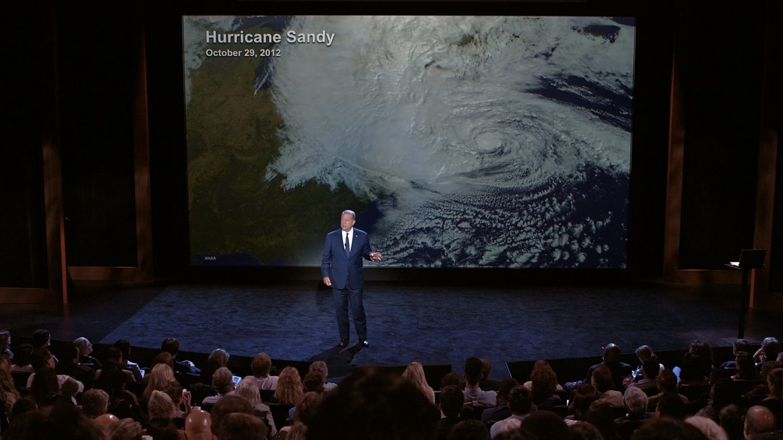Una conferencia de Al Gore.