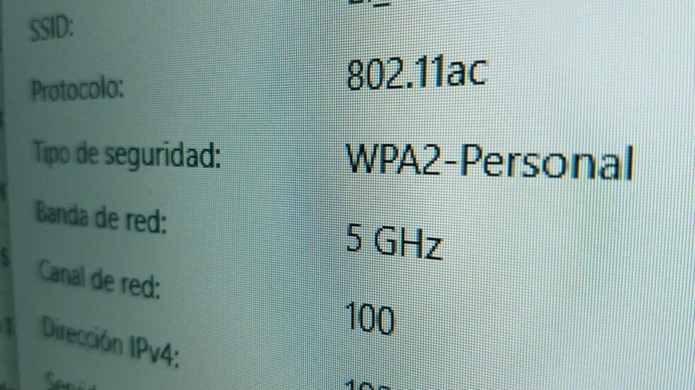 Conexión WPA2