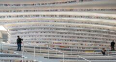 La biblioteca futurista de Tianjin