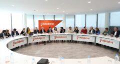 Vista general de la reunión del Comité Ejecutivo Nacional de Ciudadanos.
