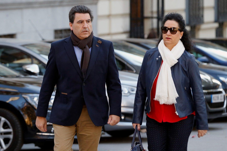 David Marjaliza, a su llegada a la Audiencia Nacional para declarar por Púnica.