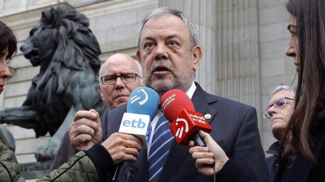 El consejero de Economía y Hacienda del Gobierno vasco, Pedro Azpiazu.