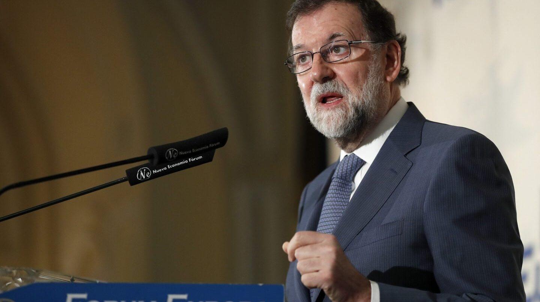 Rajoy, el pasado lunes
