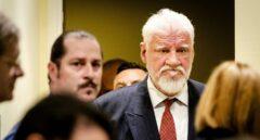 El bosniocroata Slobodan Praljak, en el Tribunal Penal Internacional para la antigua Yugoslavia.