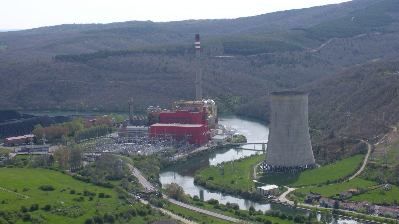 Central de carbón de Iberdrola en Velilla (Palencia). La compañía ha solicitado al Gobierno el cierre de la planta térmica.