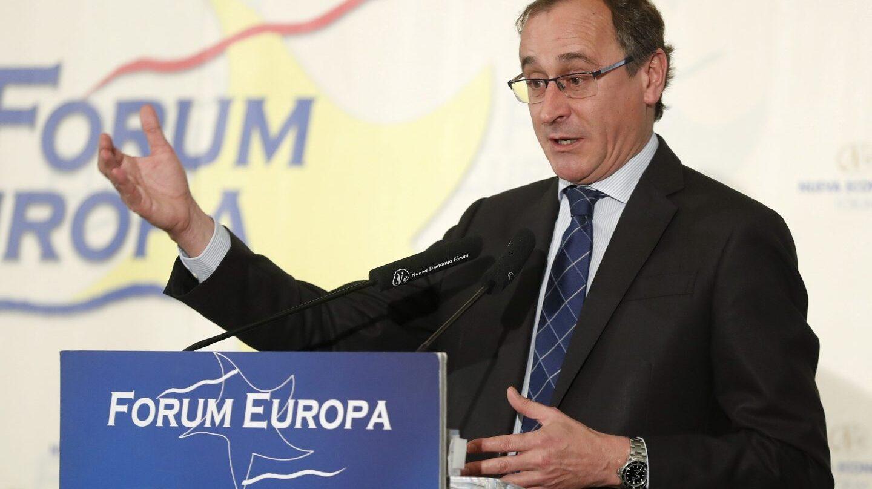 El presidente del PP vasco, Alfonso Alonso.