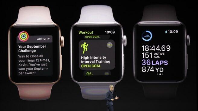 Apple recupera el trono mundial de los wearables con su Apple Watch 3.