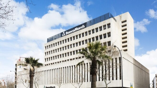 Edifcio de Banca Marcha en Palma de Mallorca.