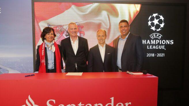 Santander patrocinará la Champions League.
