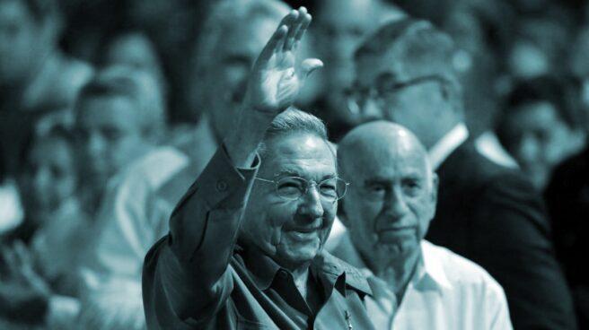 Raúl Castro. sucesor de Fidel, al frente de Cuba, ahora desde el PCC.