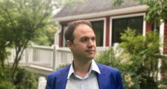 El pamplonés Javier Lesaca, investigador visitante en la George Washington University.