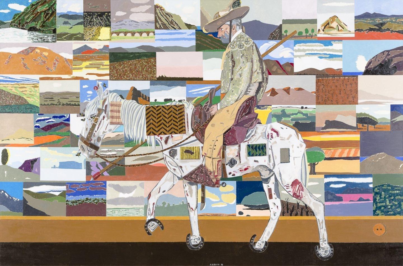'Le retour des croisades', Eduardo Arroyo (2017)