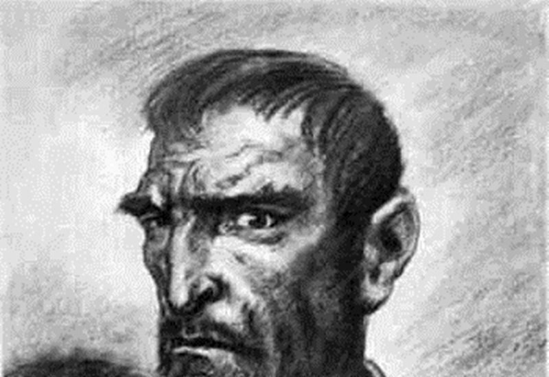 Retrato de Lope de Aguirre.