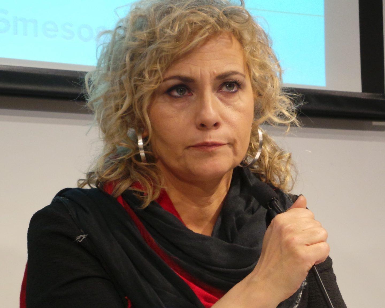 La presentador de El Matí de Catalunya Radio, Mònica Terribas.