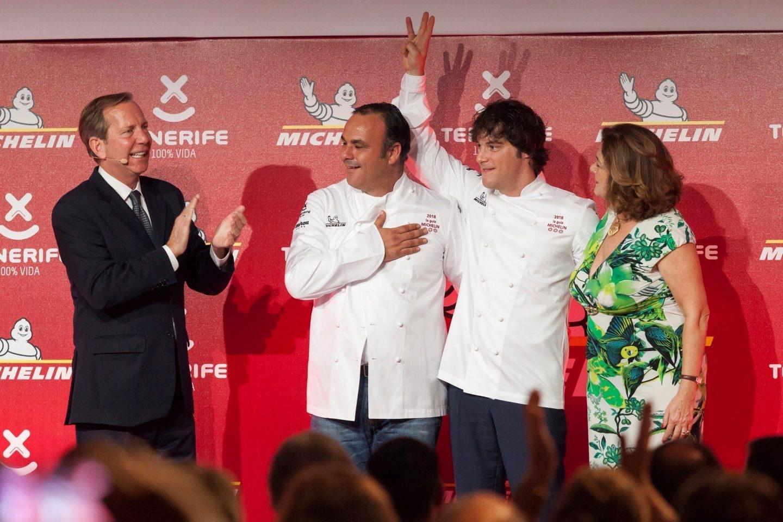 Ángel León y Jordi Cruz, nuevos tres estrellas Michelin.