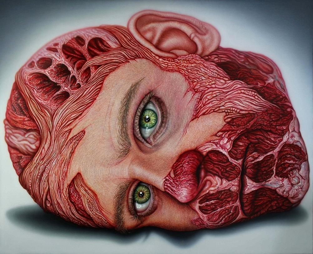 """Miguel Scheroff """"Flesh Vanitas IX"""""""