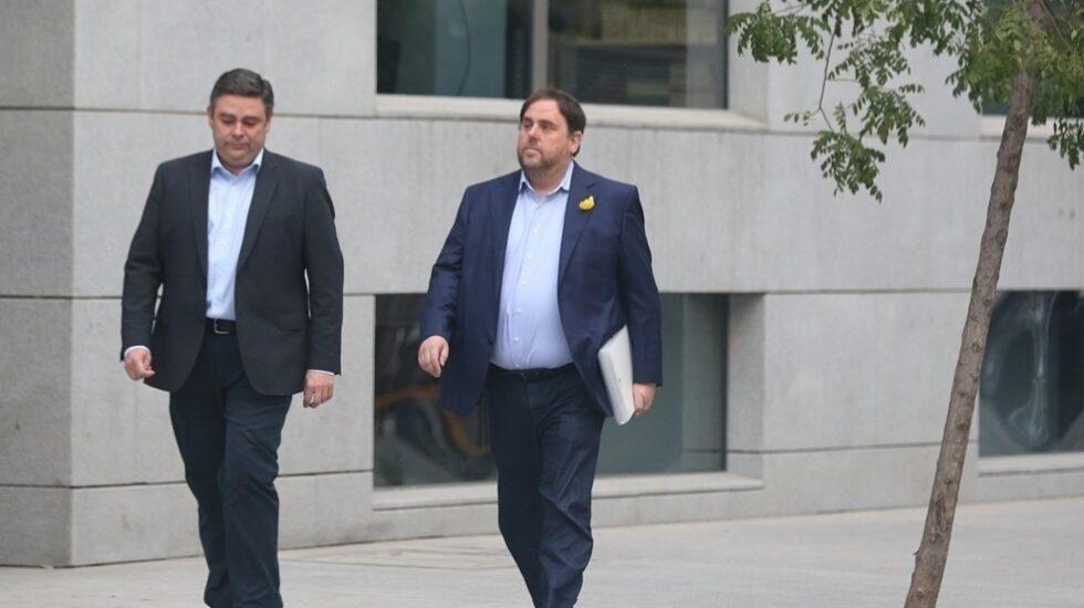 Oriol Junqueras, dirigiéndose a la Audiencia Nacional el pasado 2 de noviembre.