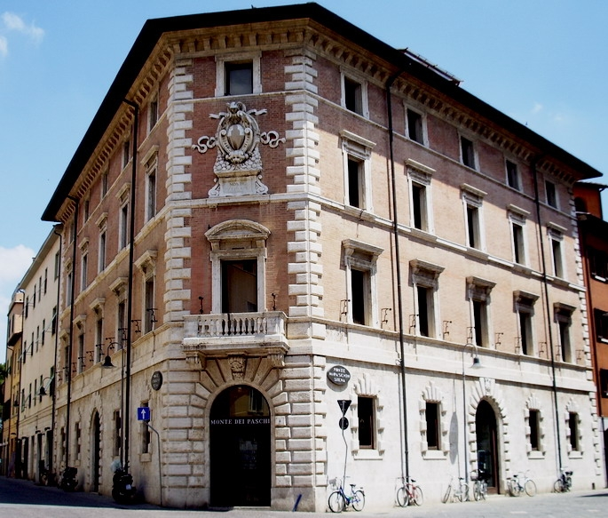Palazzo del Monte dei Paschi.