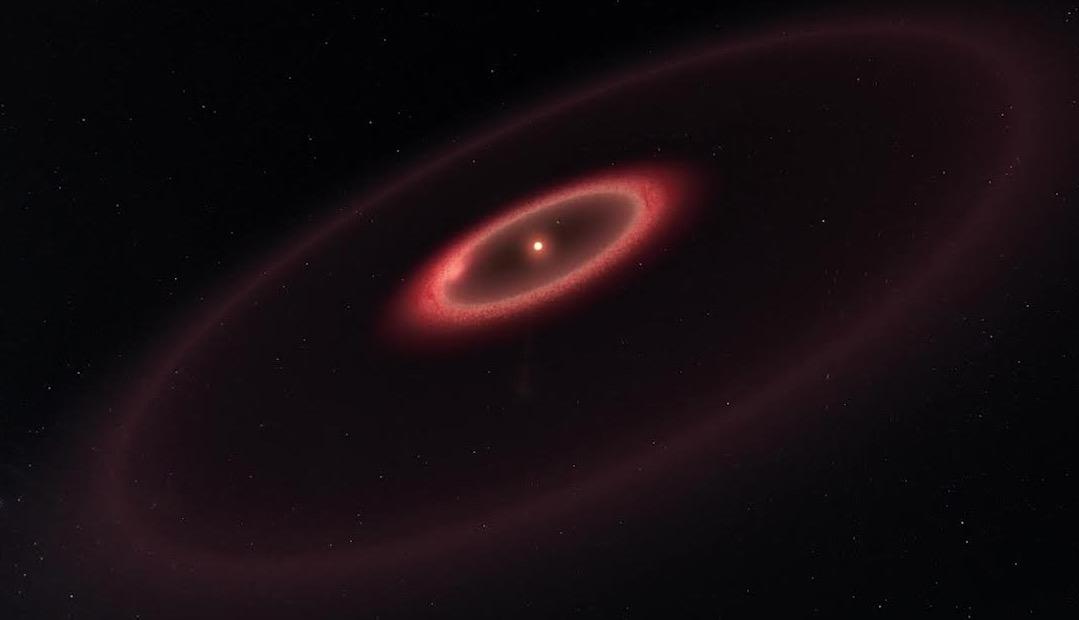 Recreación de Proxima Centauri