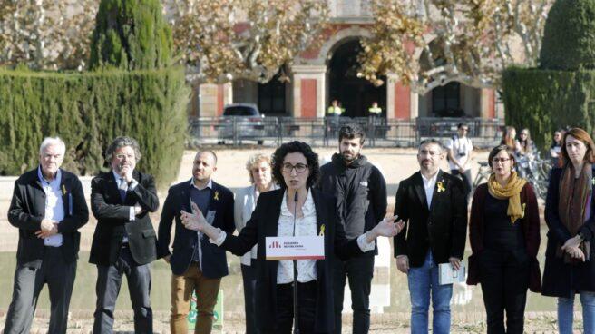 La secretaria general de ERC, Marta Rovira, en Barcelona.