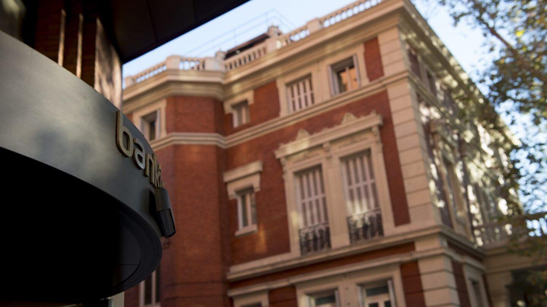 Sede de Bankinter, en el Paseo de la Castellana de Madrid.