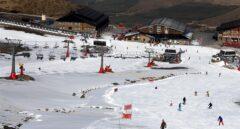 Sierra nevada tiene ya cinco pistas abiertas.