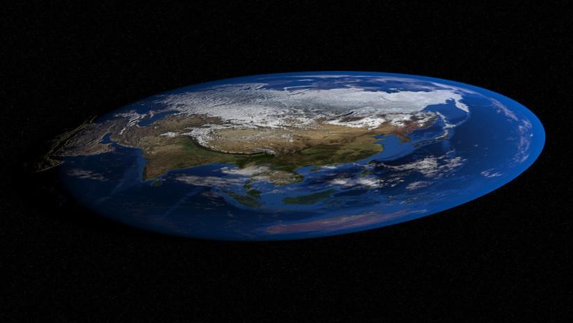 La Tierra vuelve a ser plana.
