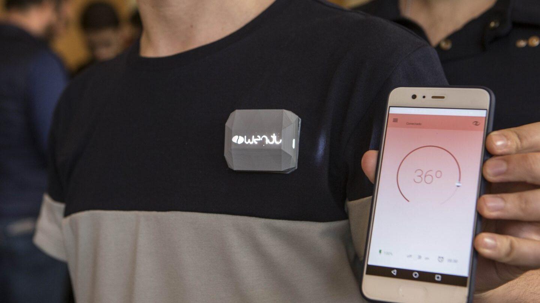 Wendu wereable es la camiseta que se enfria y calienta desde tu móvil.
