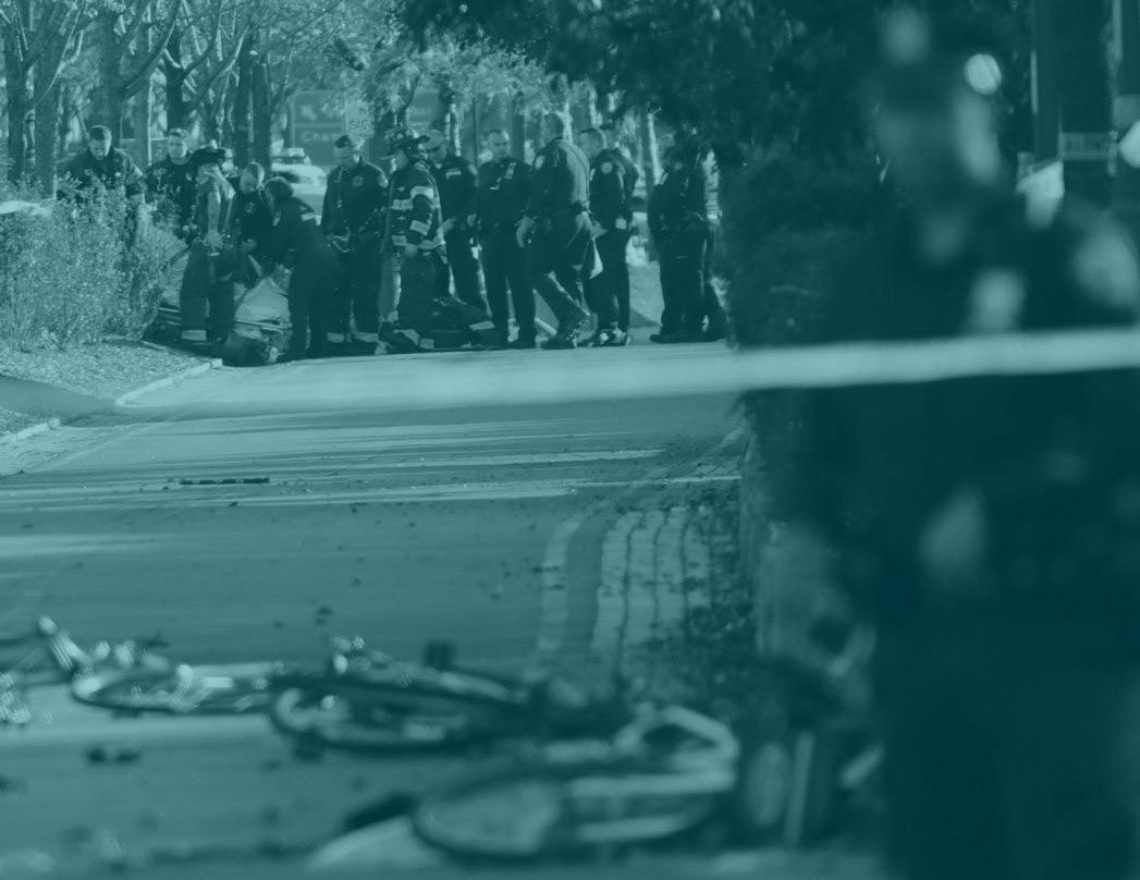 Atentado terrorista en el carril bici de Nueva York.