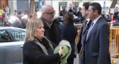 La secretaria cuarta de la Mesa del Parlament, Ramona Barrufet, llegando al Supremo el 9 de noviembre.