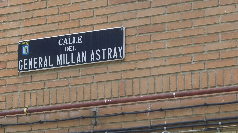 Calle con denominación vinculada al franquismo en Madrid.
