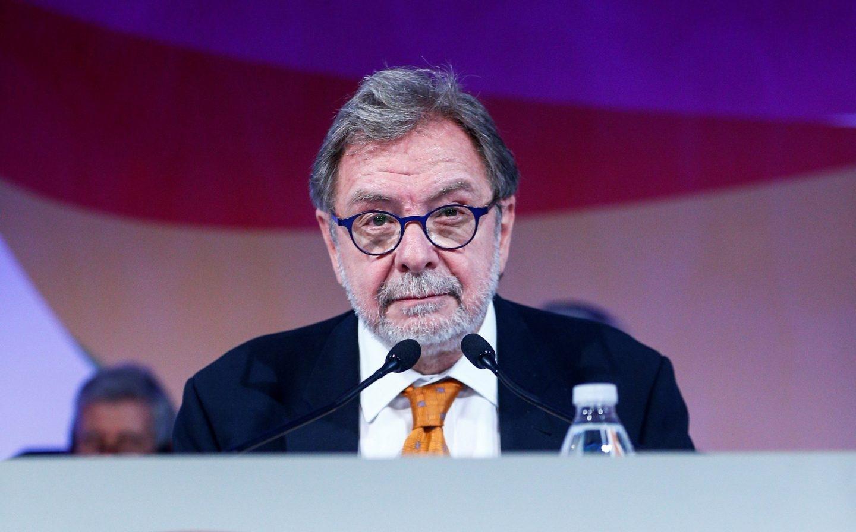 El aún presidente ejecutivo del Grupo Prisa, Juan Luis Cebrián.