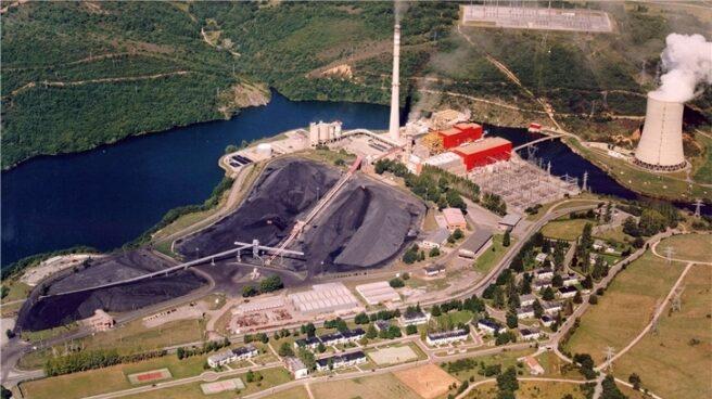 La central de carbón de Velilla (Palencia), operada por Iberdrola.