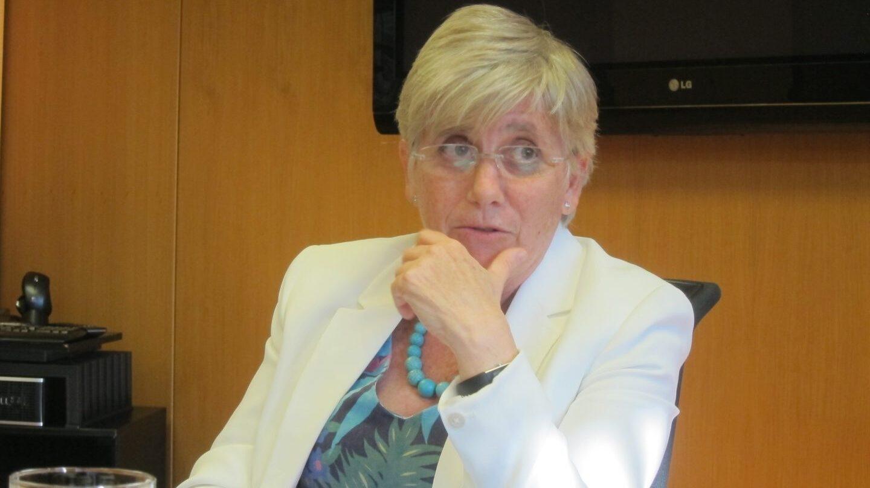 La ex consellera de Enseñanza Clara Ponsati.