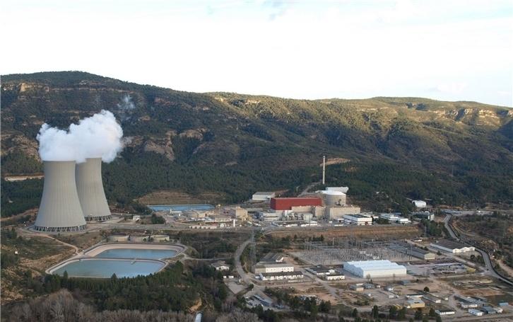 La central nuclear de Cofrentes (Valencia).