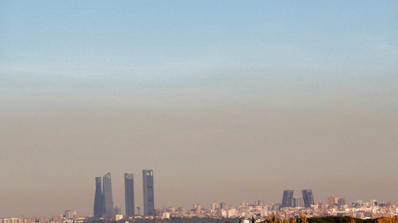 Vistas de la ciudad de Madrid.