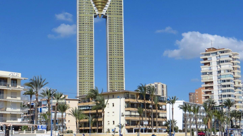 Rascacielos InTempo de Benidorm, traspasado por Sareb a un fondo estadounidense.